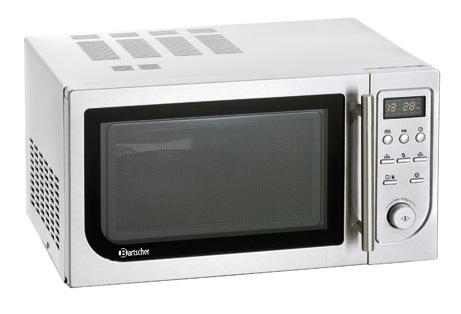FOUR MICRO-ONDES AVEC AIR CHAUD ET GRIL pour cuisine professionnelle