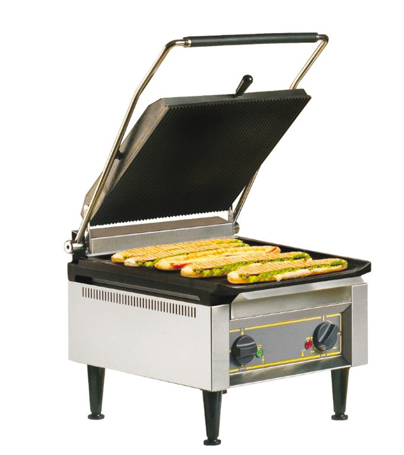Contact grill extra large for Grill cuisine professionnelle