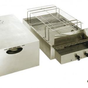 FUMOIR ELECTRIQUE AUTOMATIQUE 2 NIVEAUX pour cuisine professionnelle