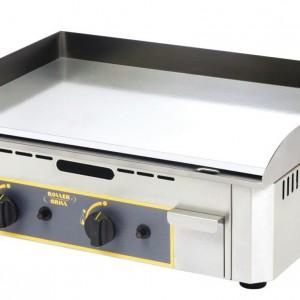 PLAQUE A SNACKER CHROME DOUBLE GAZ pour cuisine professionnelle