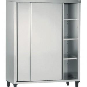 ARMOIRE HAUTE CHR 600X1200MM PORTES COULISSANTES pour cuisine professionnelle