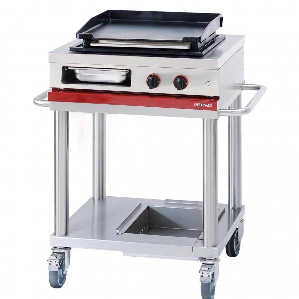 MODULE SUPPORT - PLANCHA GAZ pour cuisine professionnelle