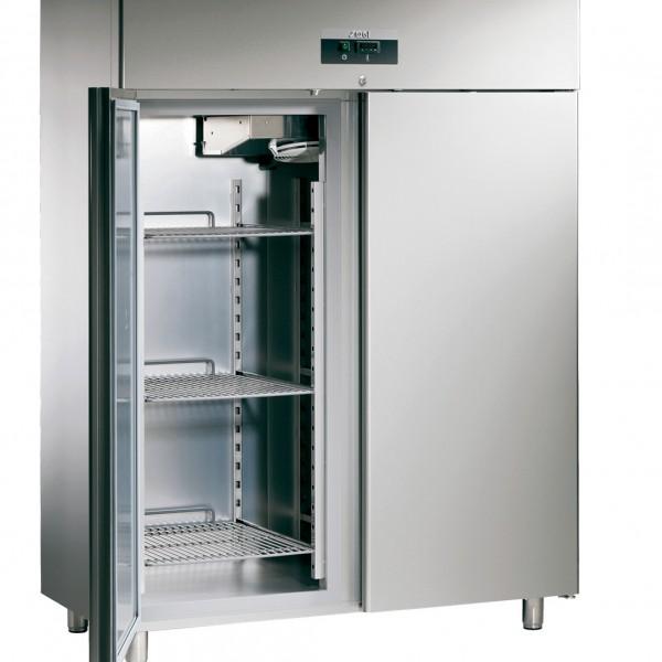 ARMOIRE FRIGO NEGATIVE 1500 LT GN 2/1 2 PORTES pour cuisine professionnelle