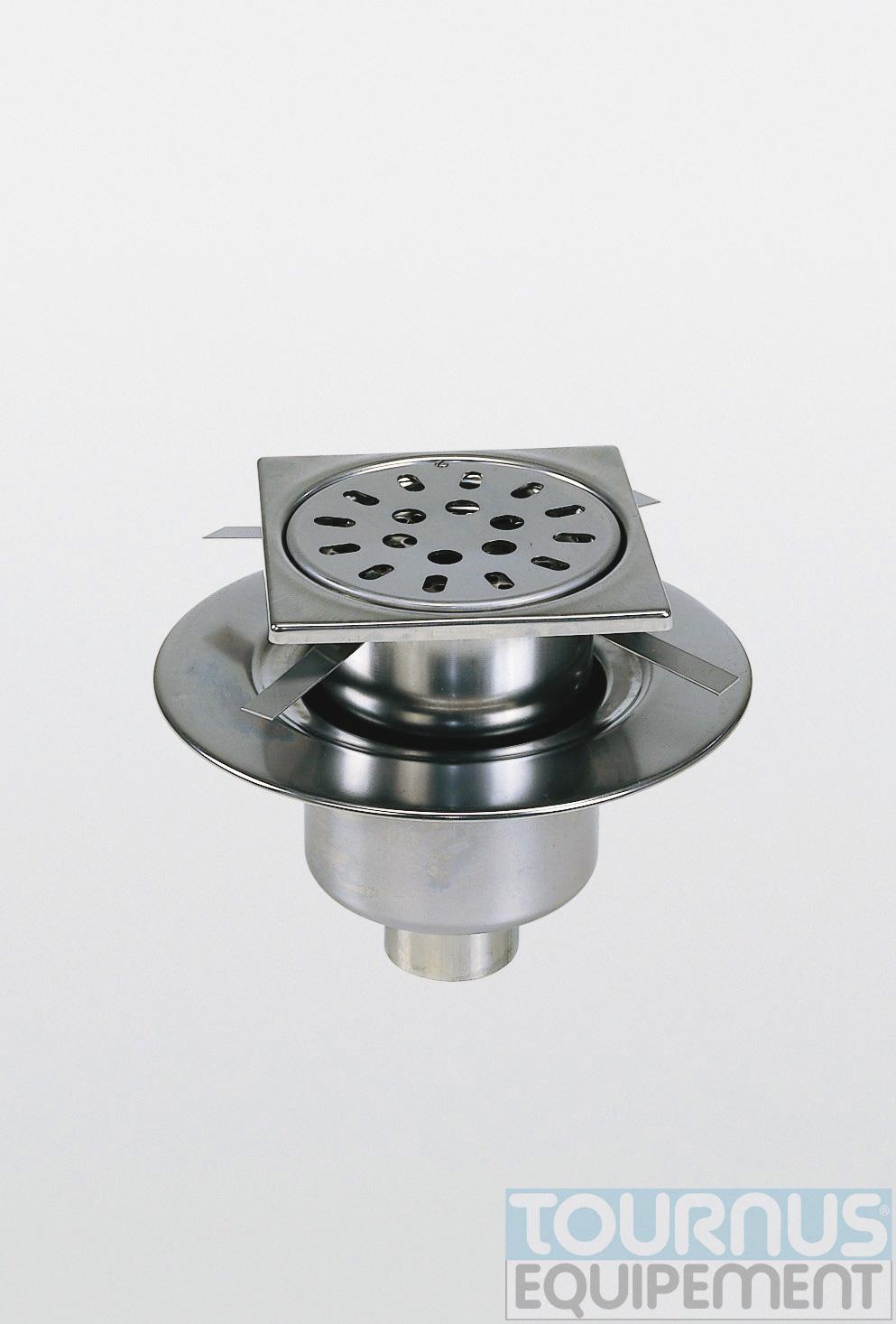 Siphon s carre reglab gril 2mm - Siphon de sol cuisine professionnelle ...