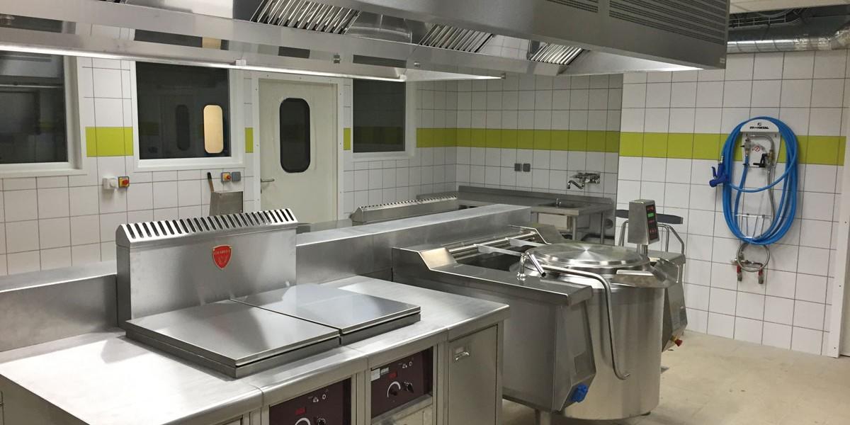 Matériel de cuisson pour collège - Réalisations