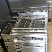 Vue de la zone de cuisson